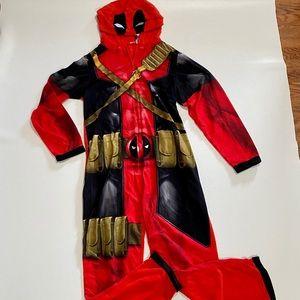 🌹2/$20 Deadpool Adult Pajamas/Costume